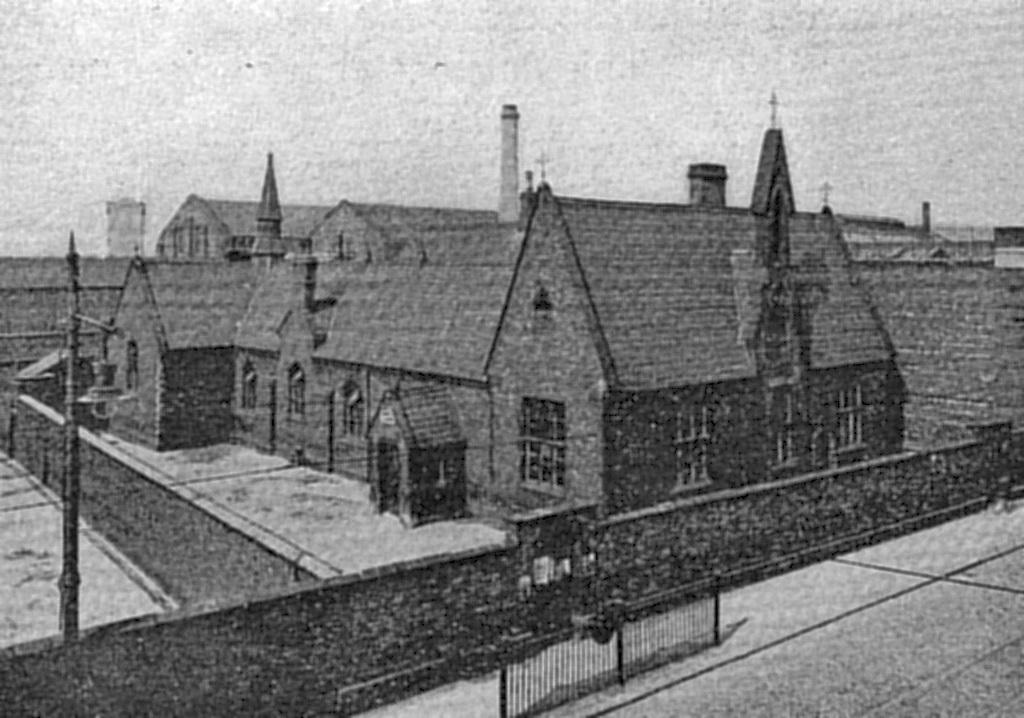 Original church and boys' school