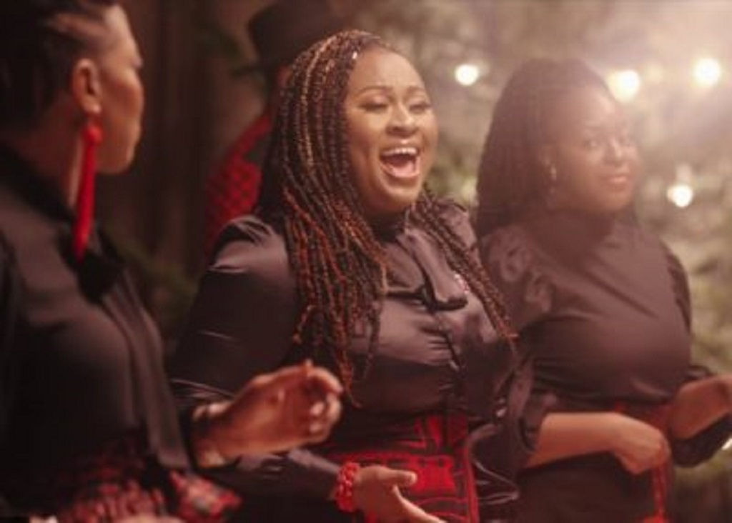 Gospel singers for Manchester Camerata performing at Manchester Monastery