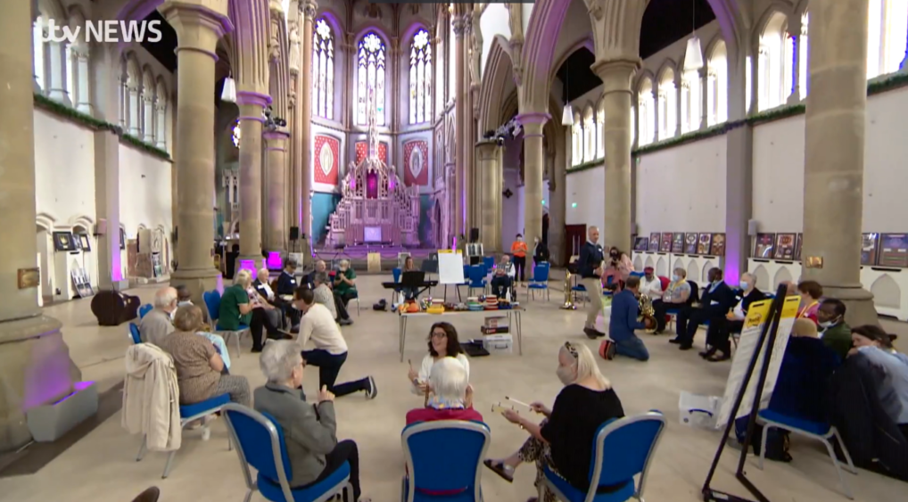 ITV Music Cafe at Manchester Monastery