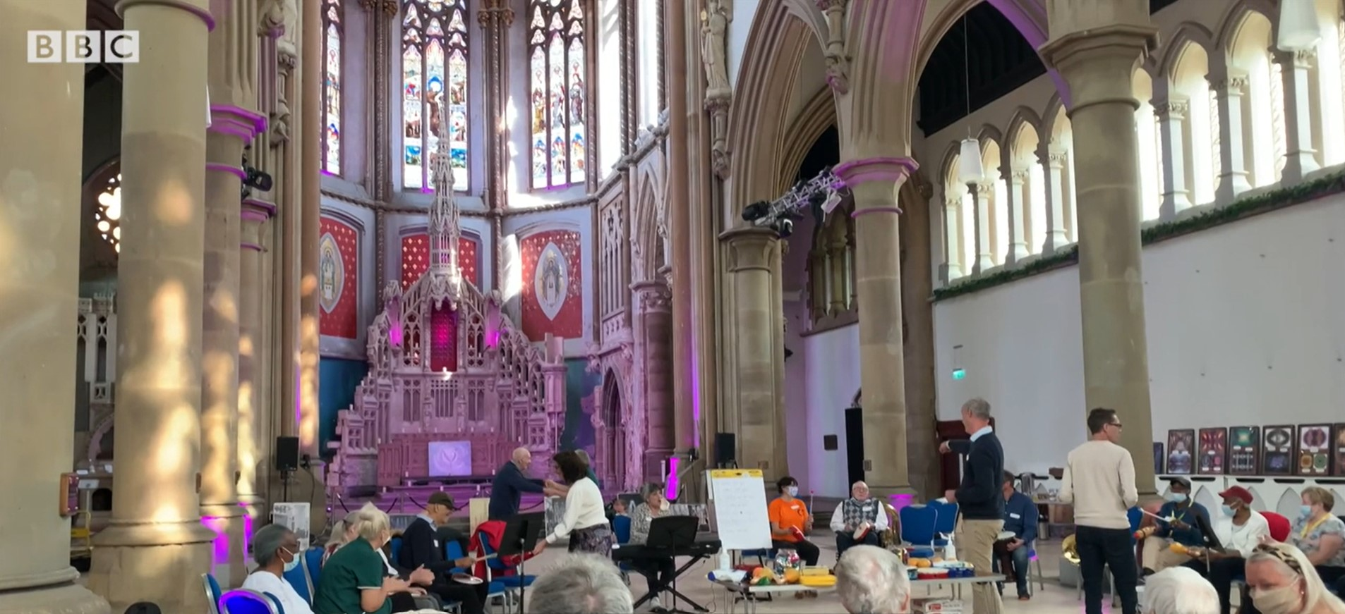 Music Cafe at Manchester Monastery
